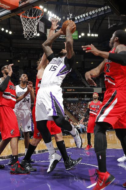 Kings hold off Lillard, Blazers 123-119