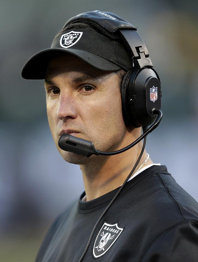 Allen to return for 3rd season as Raiders coach
