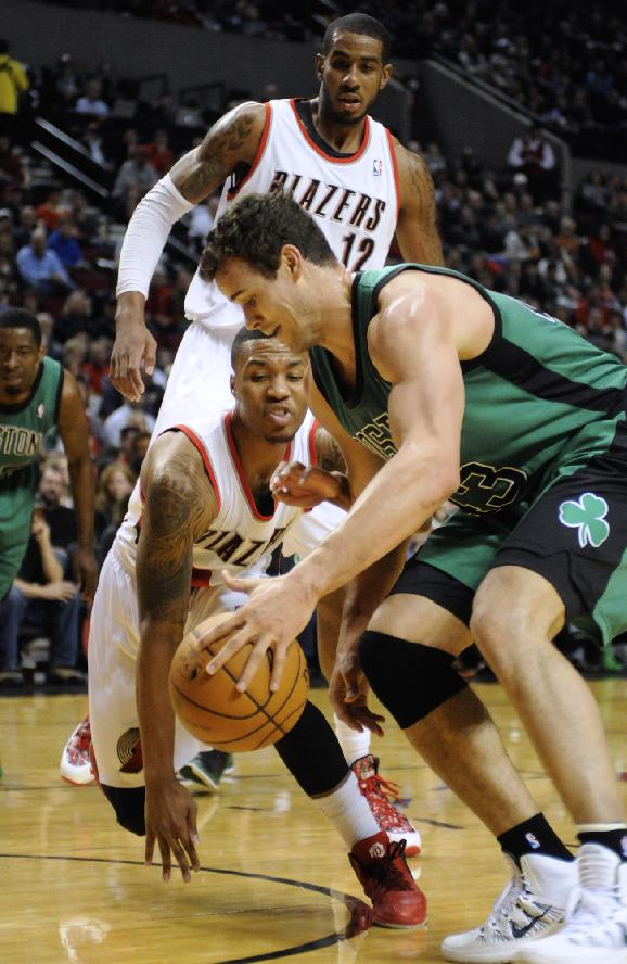 Trail Blazers hand Boston its 8th straight loss