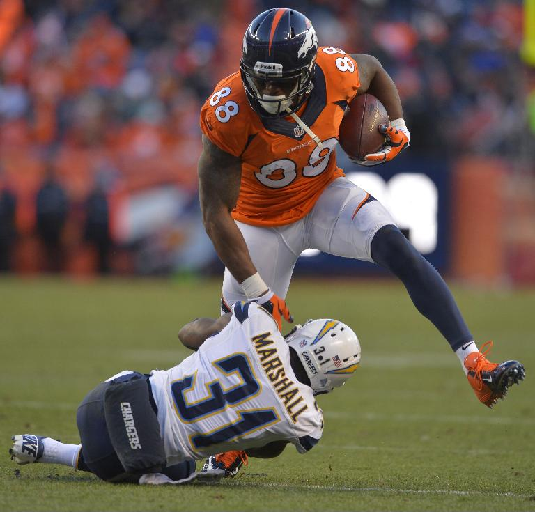 Manning, Broncos top Chargers, make AFC title game