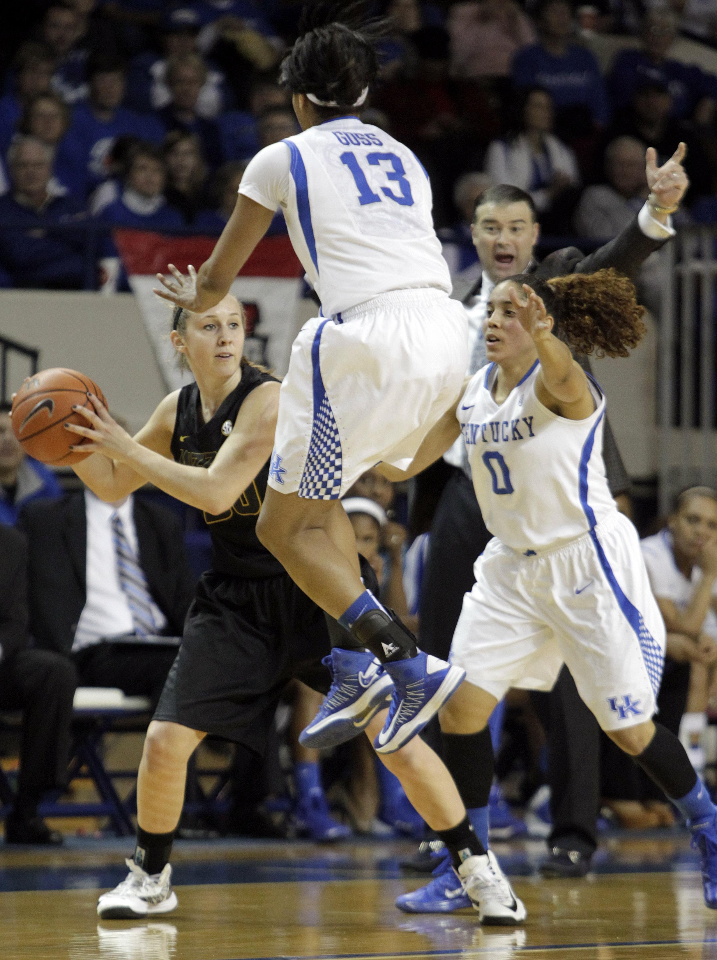Goss leads No. 9 Kentucky women over Missouri