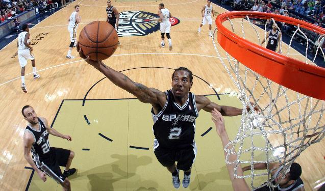 Parker leads Spurs past Pelicans, 101-95