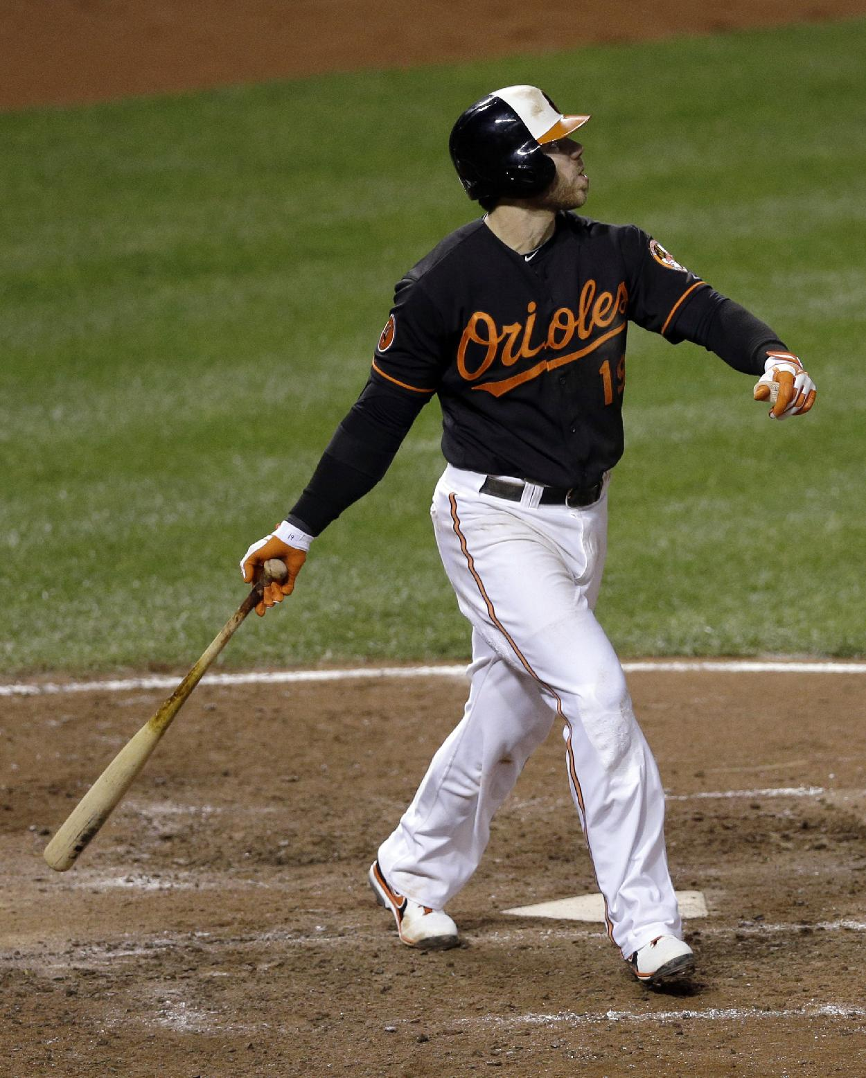 Orioles reach agreement with Davis, 4 others