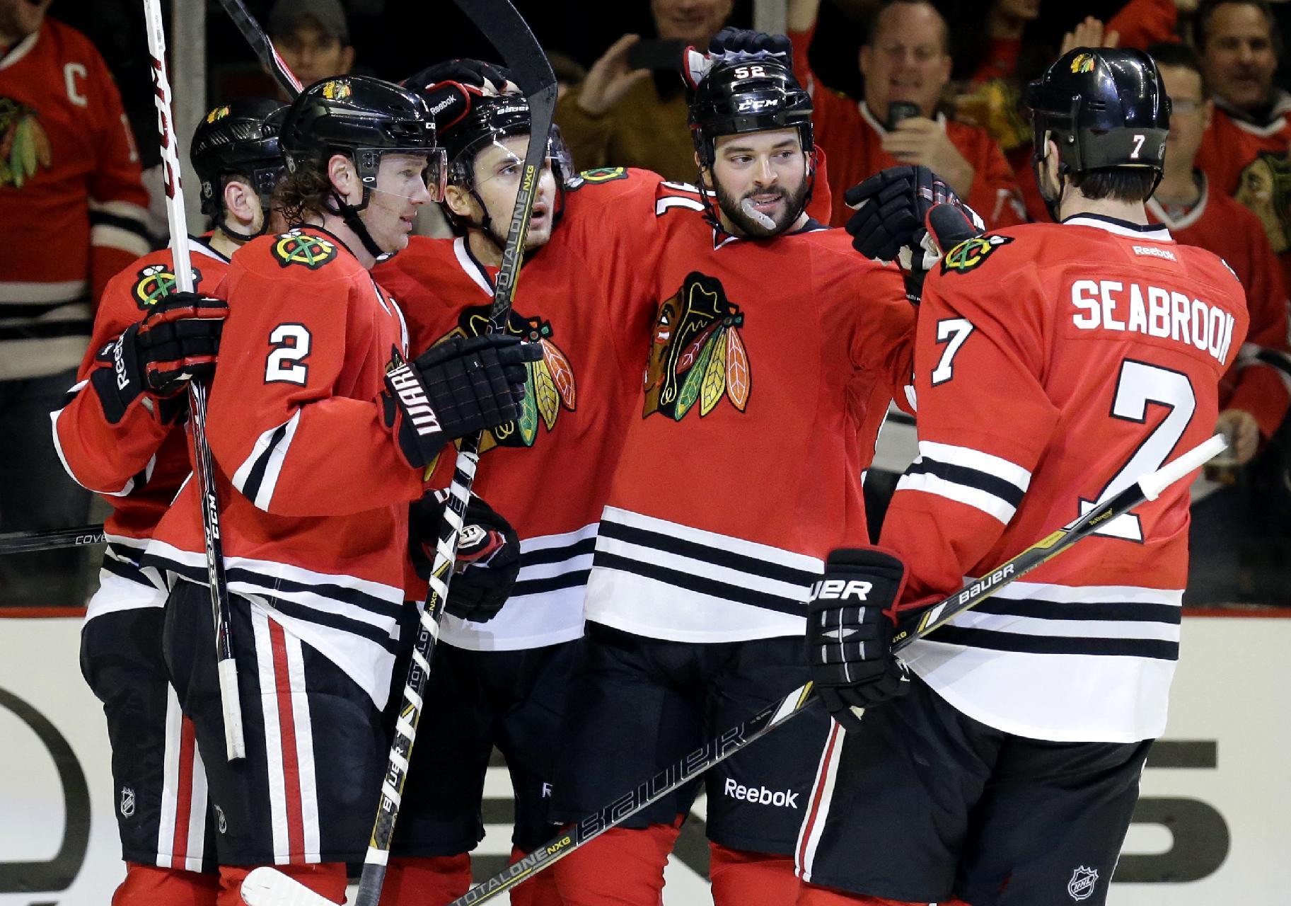 Kane scores in SO as Blackhawks top Bruins 3-2