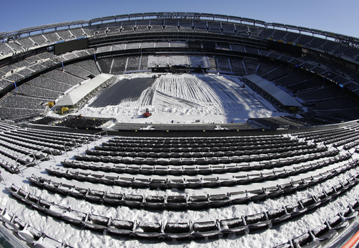 Snowstorm gives MetLife Stadium dress rehearsal