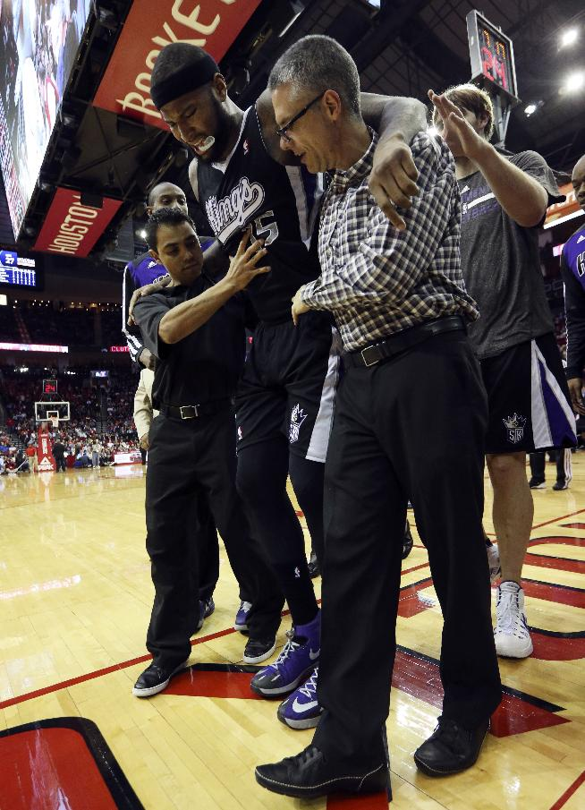 Kings' Cousins, Gay 'day-to-day' with injuries