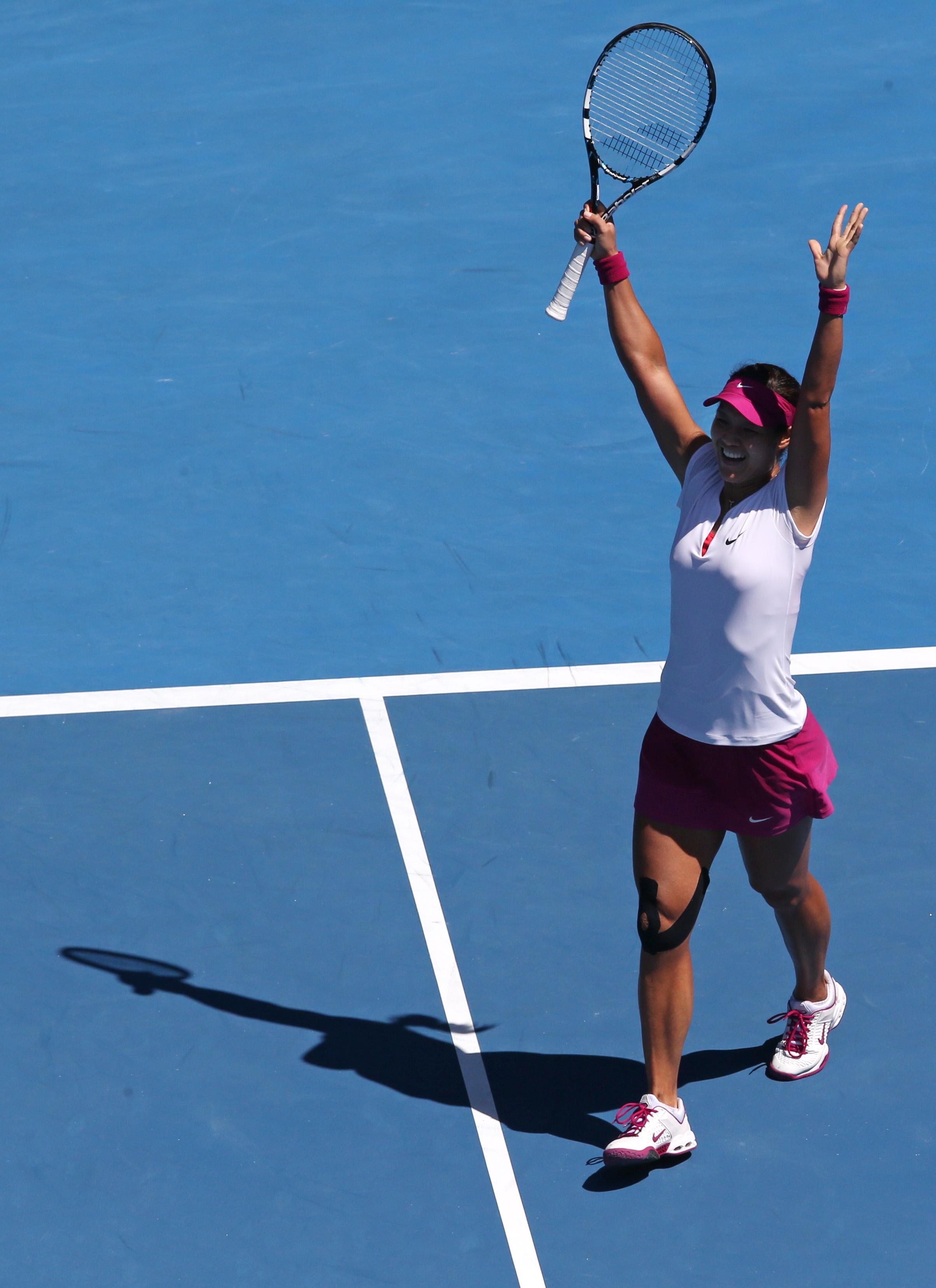 Wawrinka reaches first Slam final at Aussie Open