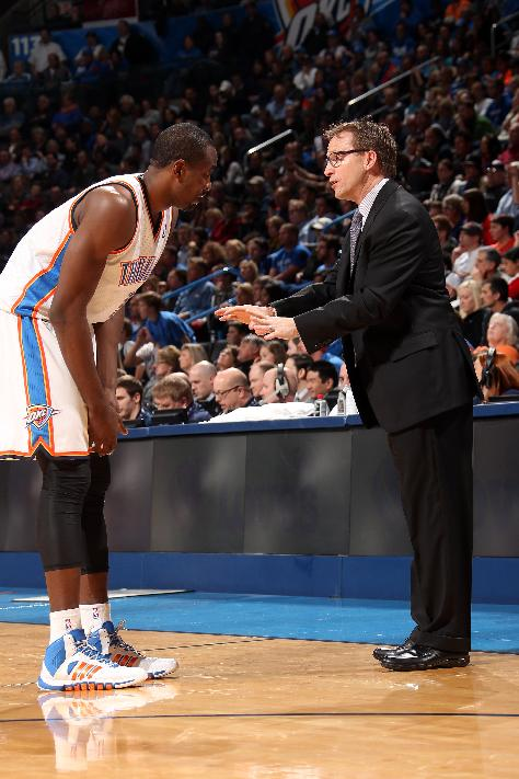 OKC's Brooks to coach Western Conference All-Stars