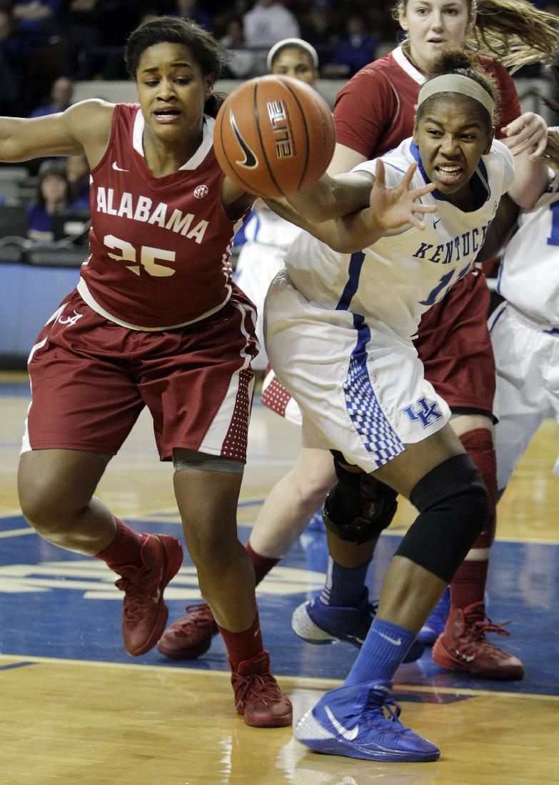 Simmons' layup lifts Alabama past No. 9 Kentucky