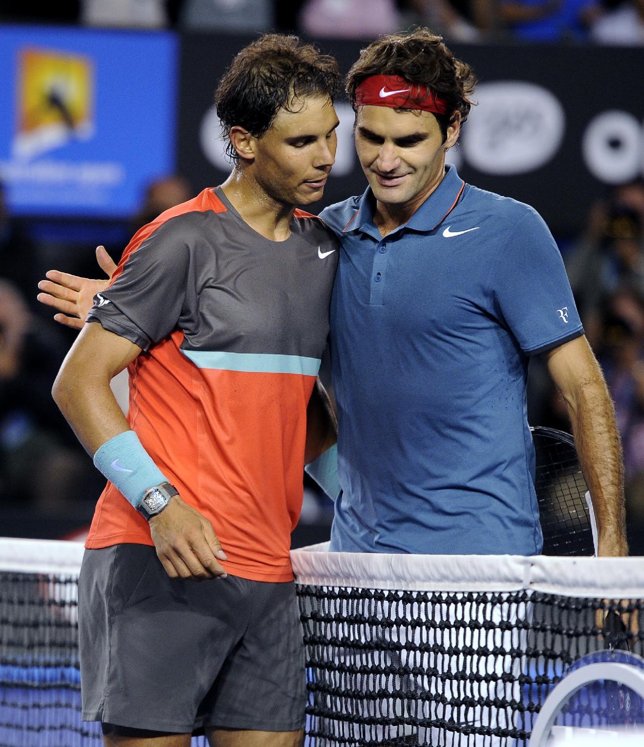 Nadal beats Federer, reaches Australian Open final