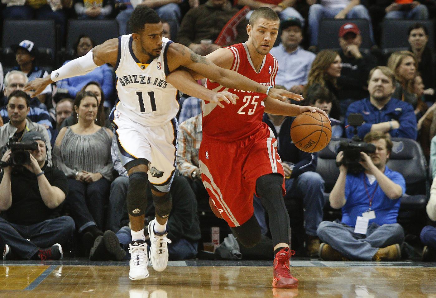 Conley, Randolph lead Grizzlies past Rockets 99-81
