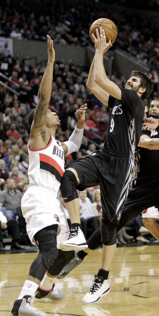 Aldridge, Trail Blazers down Timberwolves 115-104