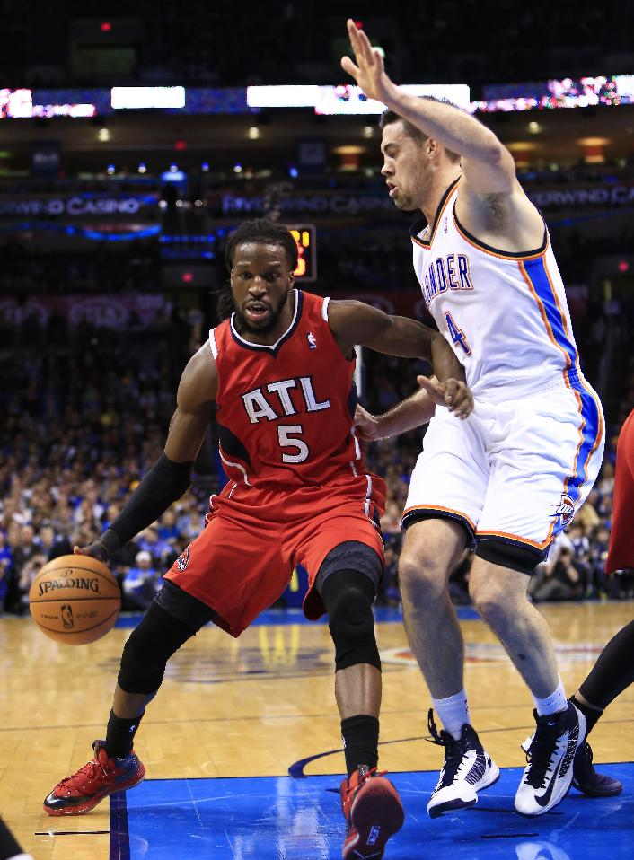 Durant does it again as Thunder rally past Hawks