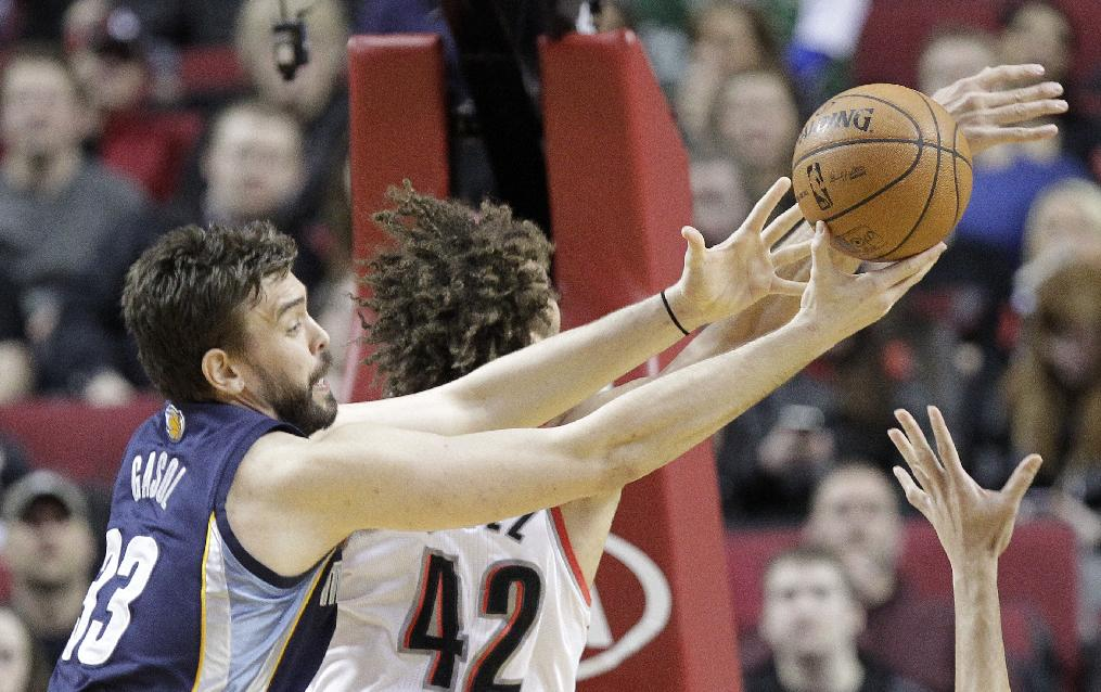 Randolph leads Grizzlies past Blazers 98-81