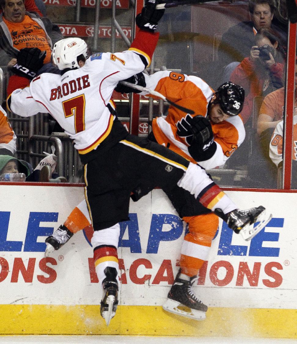 Schenn, Hartnell lead Flyers over Flames