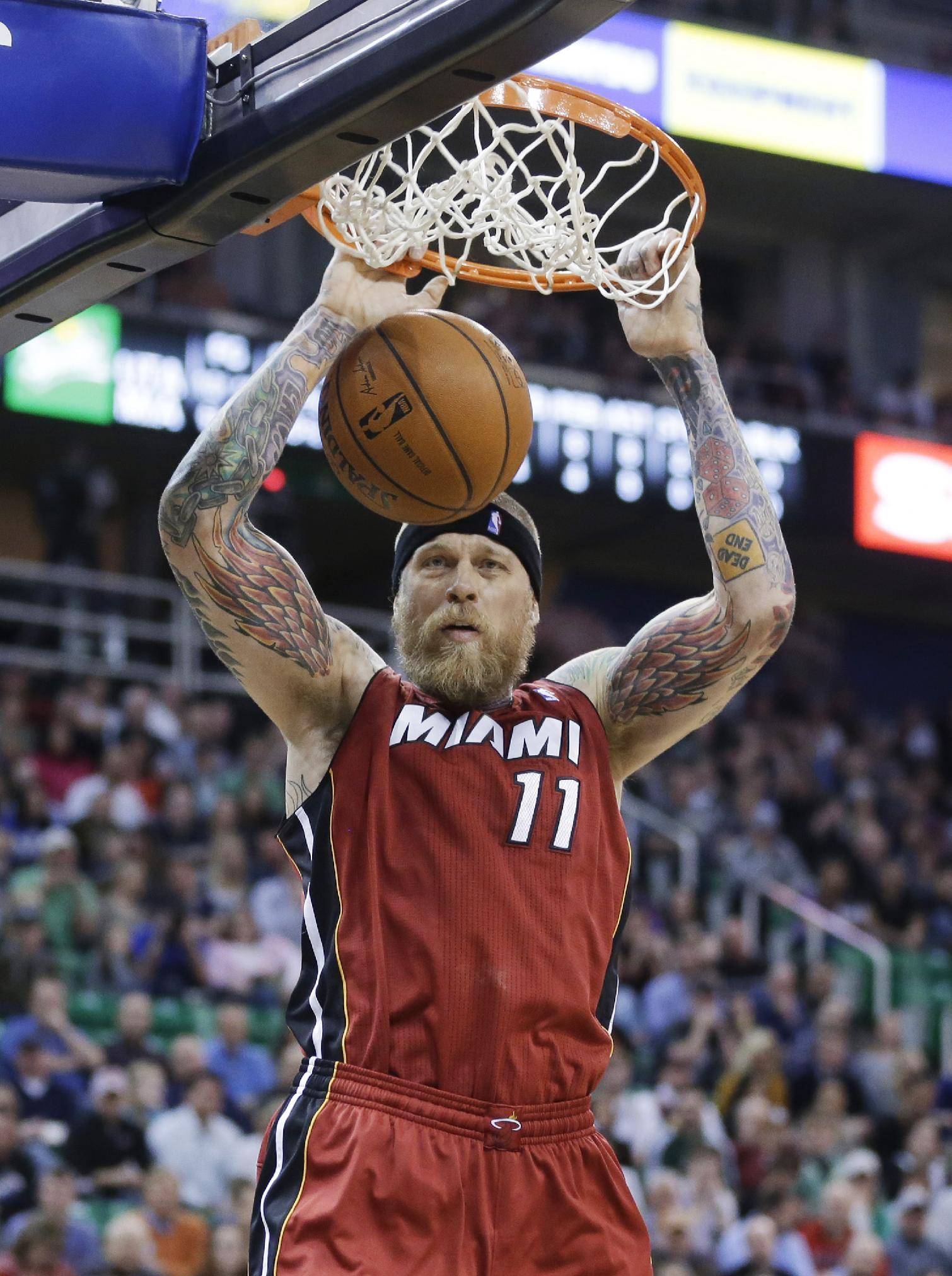 Williams, Burke lift Jazz past Heat 94-89