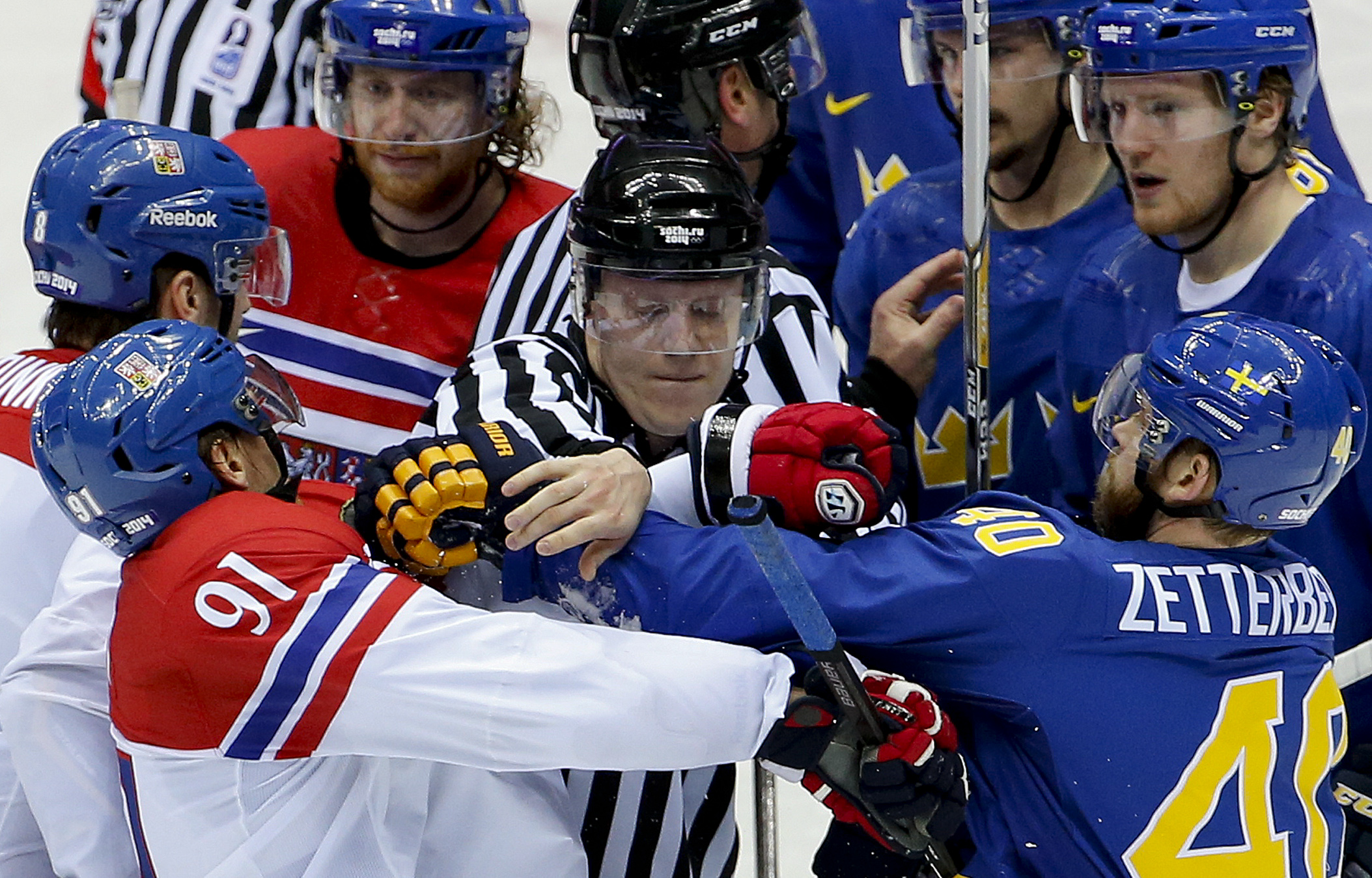 Swedes' Henrik Zetterberg out for rest of Olympics