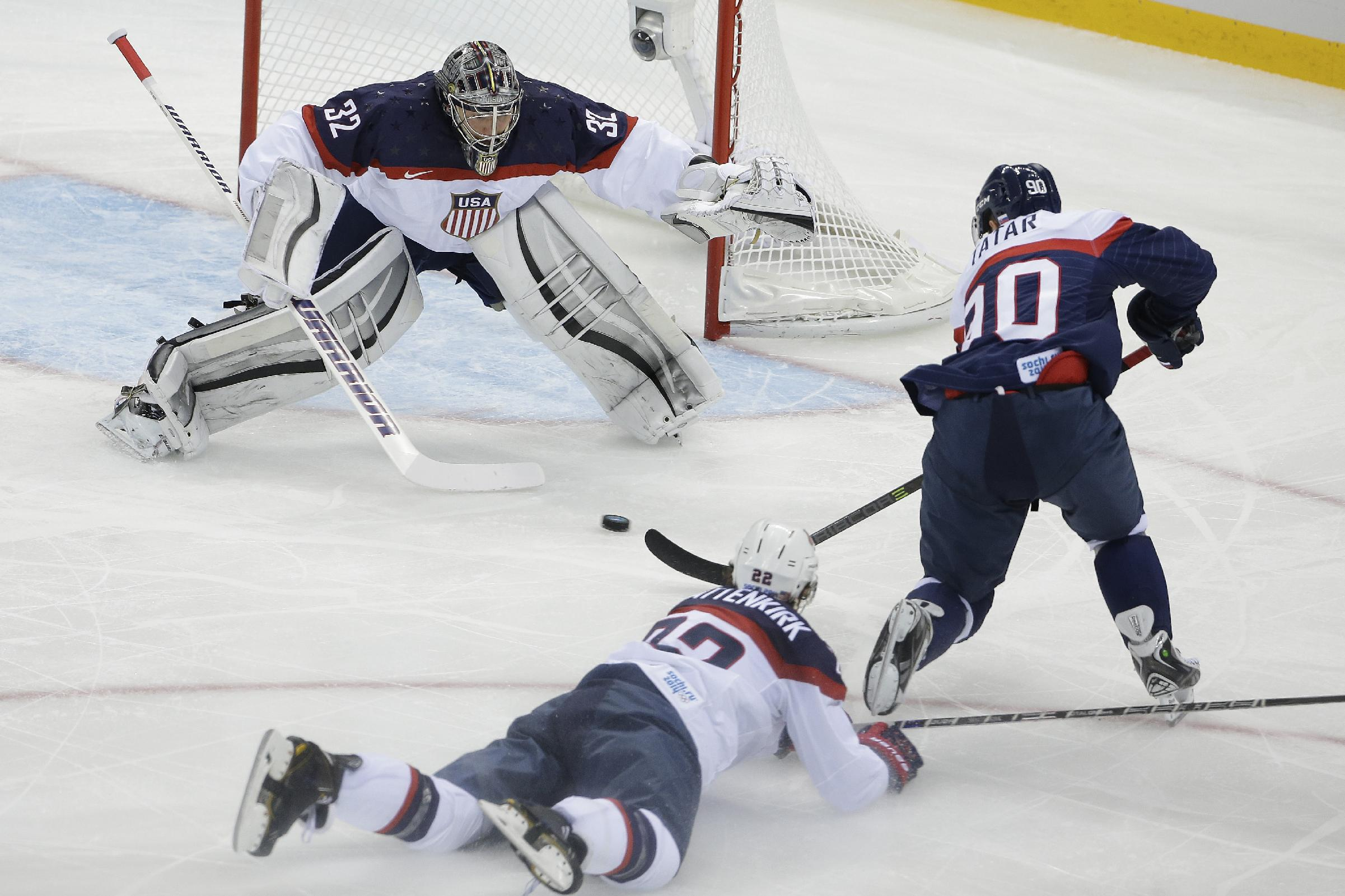 Quick in goal again as US revives Russia rivalry