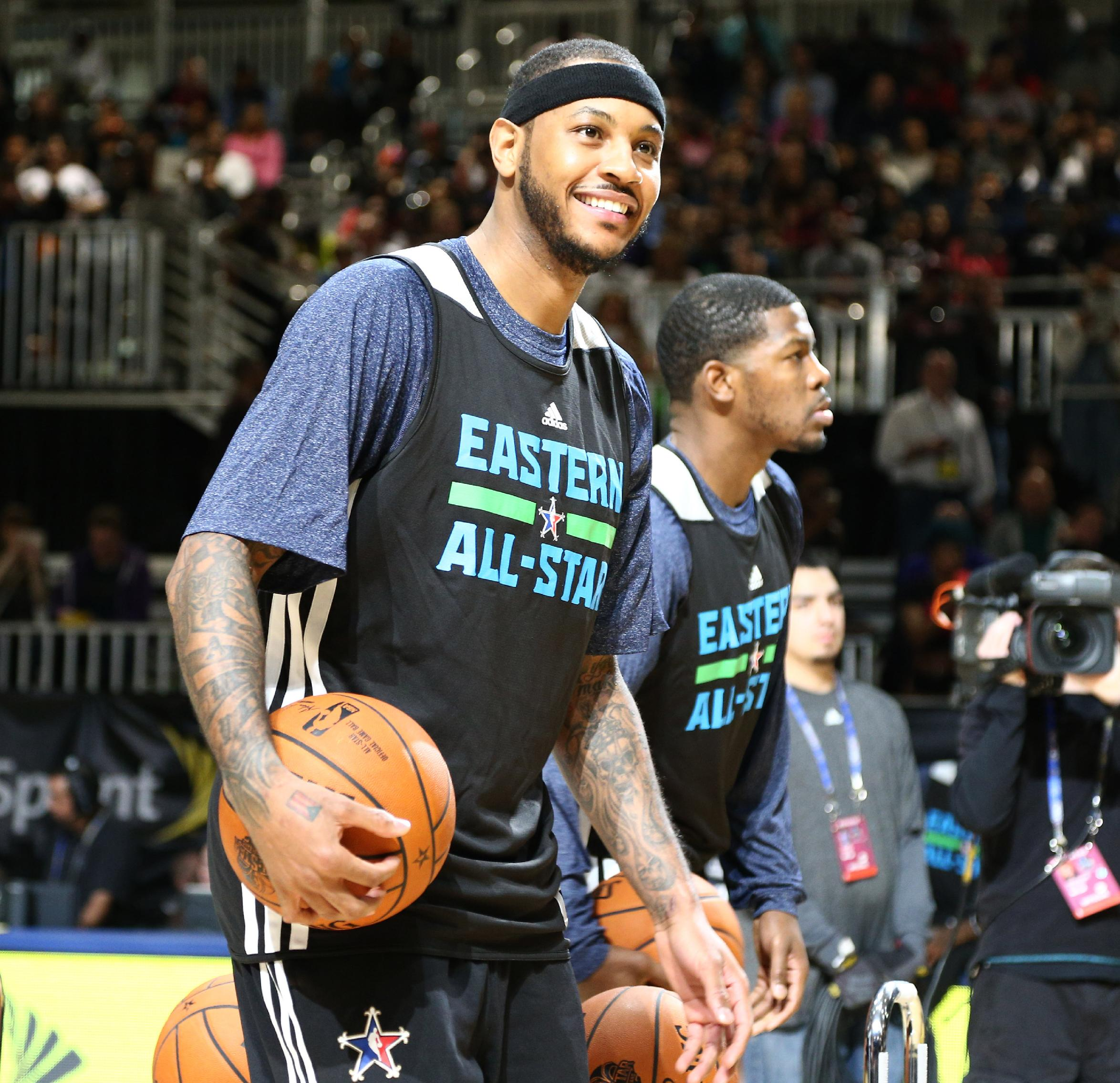 Melo rules out trade, open to less than max deal
