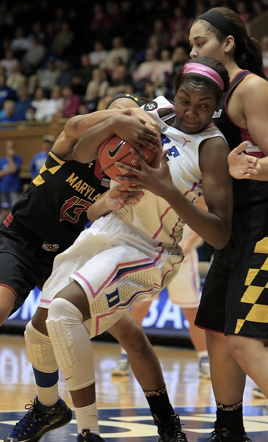 No. 7 Duke beats No. 8 Maryland 84-63