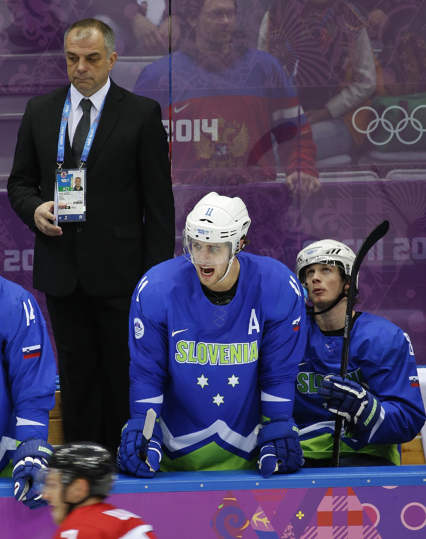 Kopitar's Slovenia tops Austria, advances in Sochi