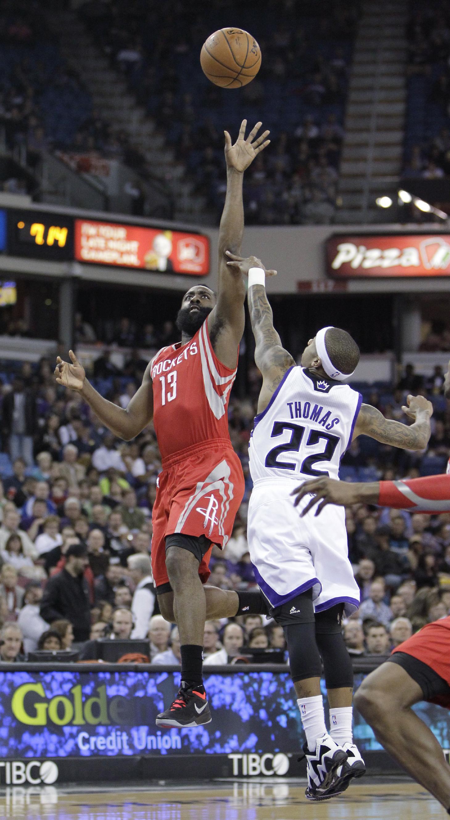 Harden scores 43, Rockets rout Kings 129-103