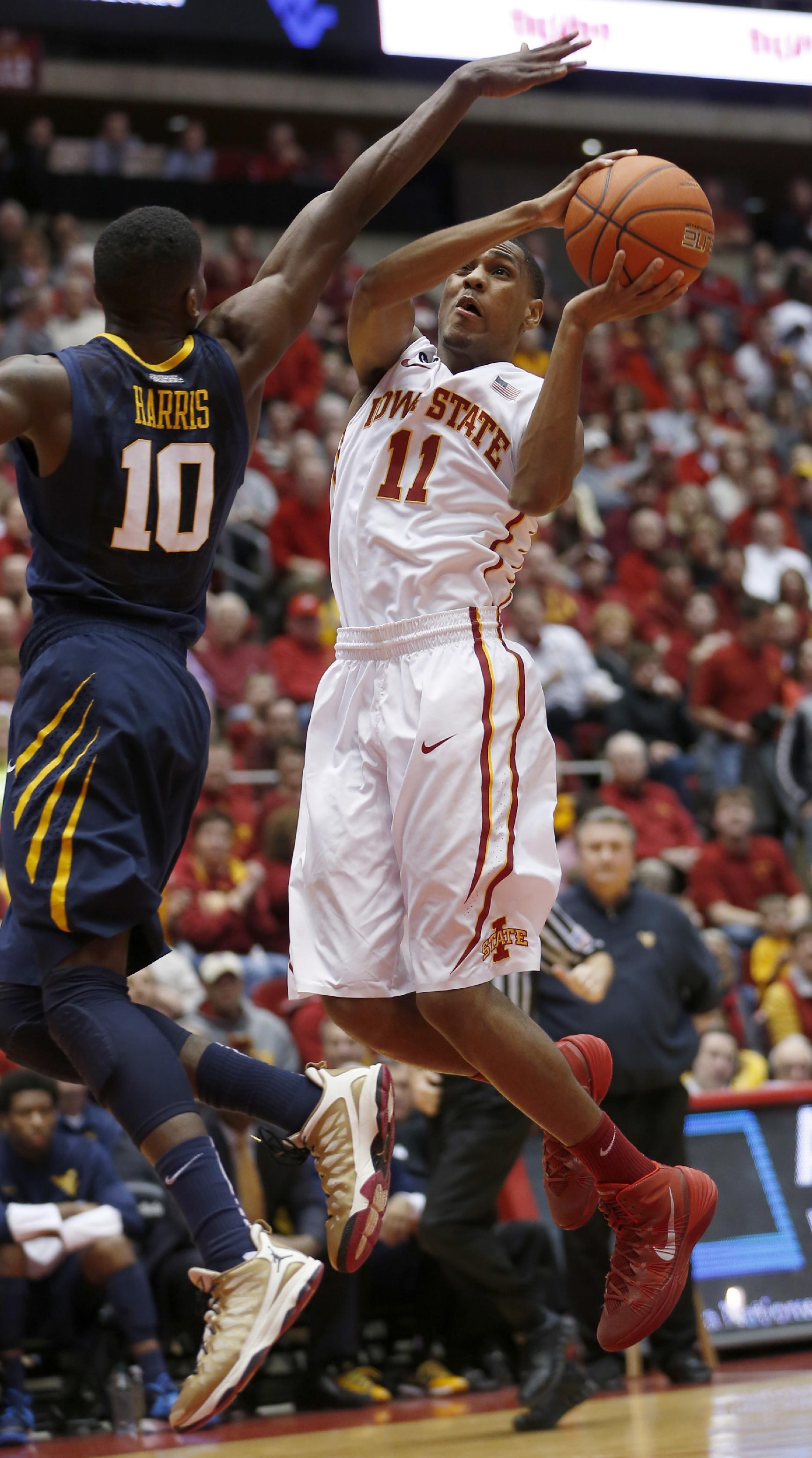 Iowa St freshman PG Morris on pace for NCAA mark