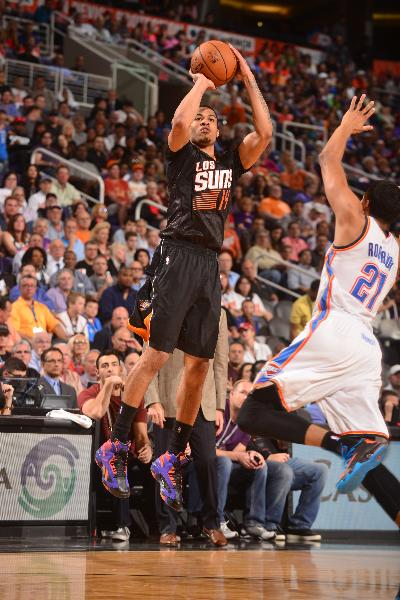 Green's 41 points leads Suns past Thunder 128-122