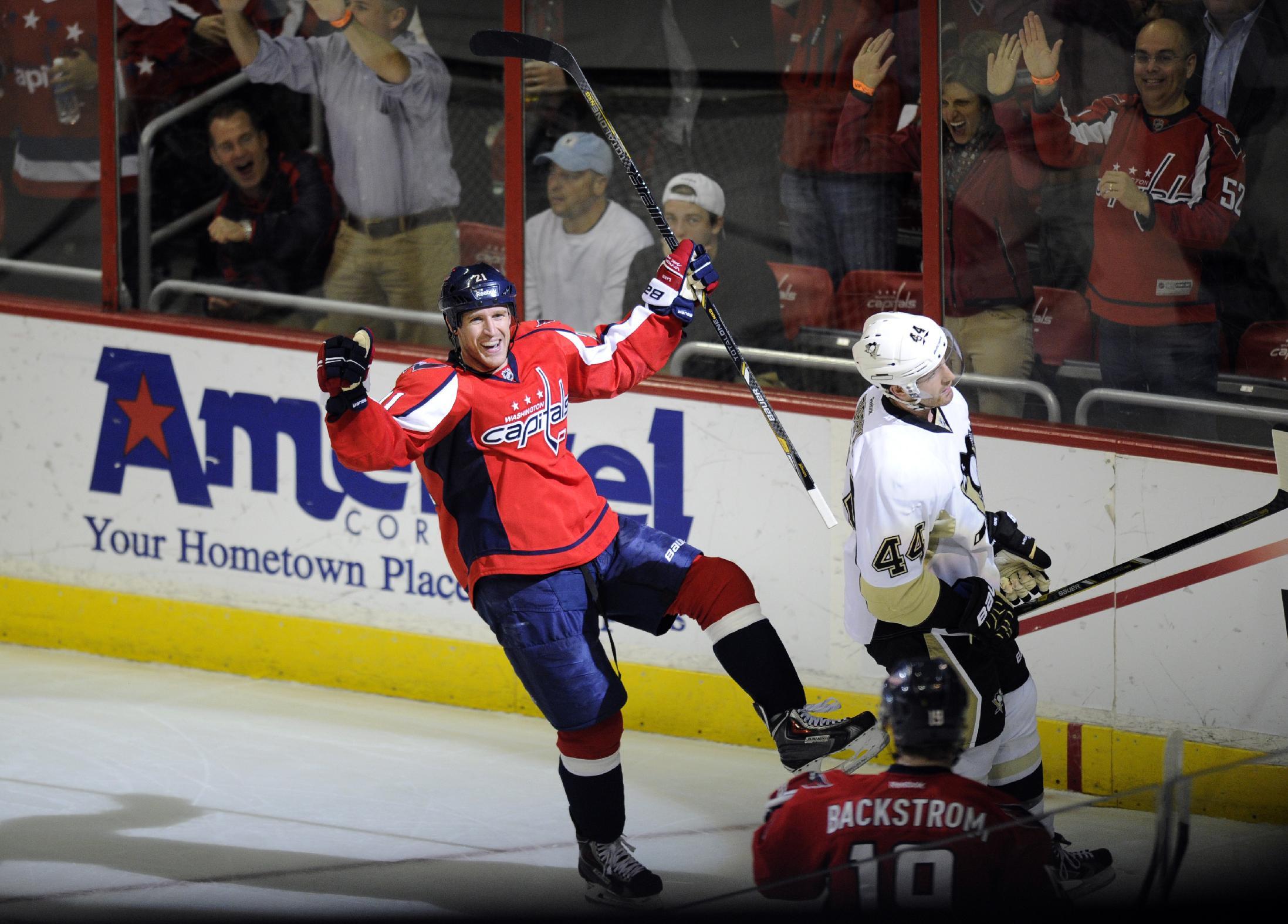 Crosby, Kunitz lead Penguins past Capitals 3-2