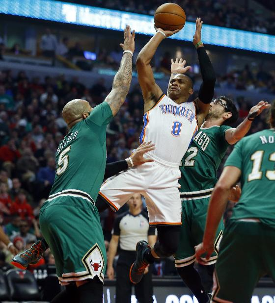 Westbrook out for Thunder against Cavs