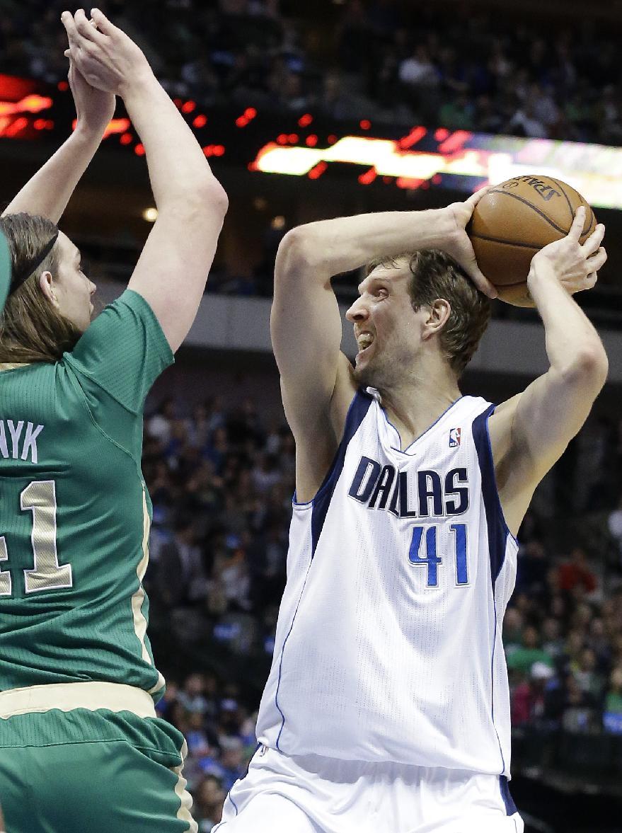 Mavs beat Celtics 94-89 to open long homestand