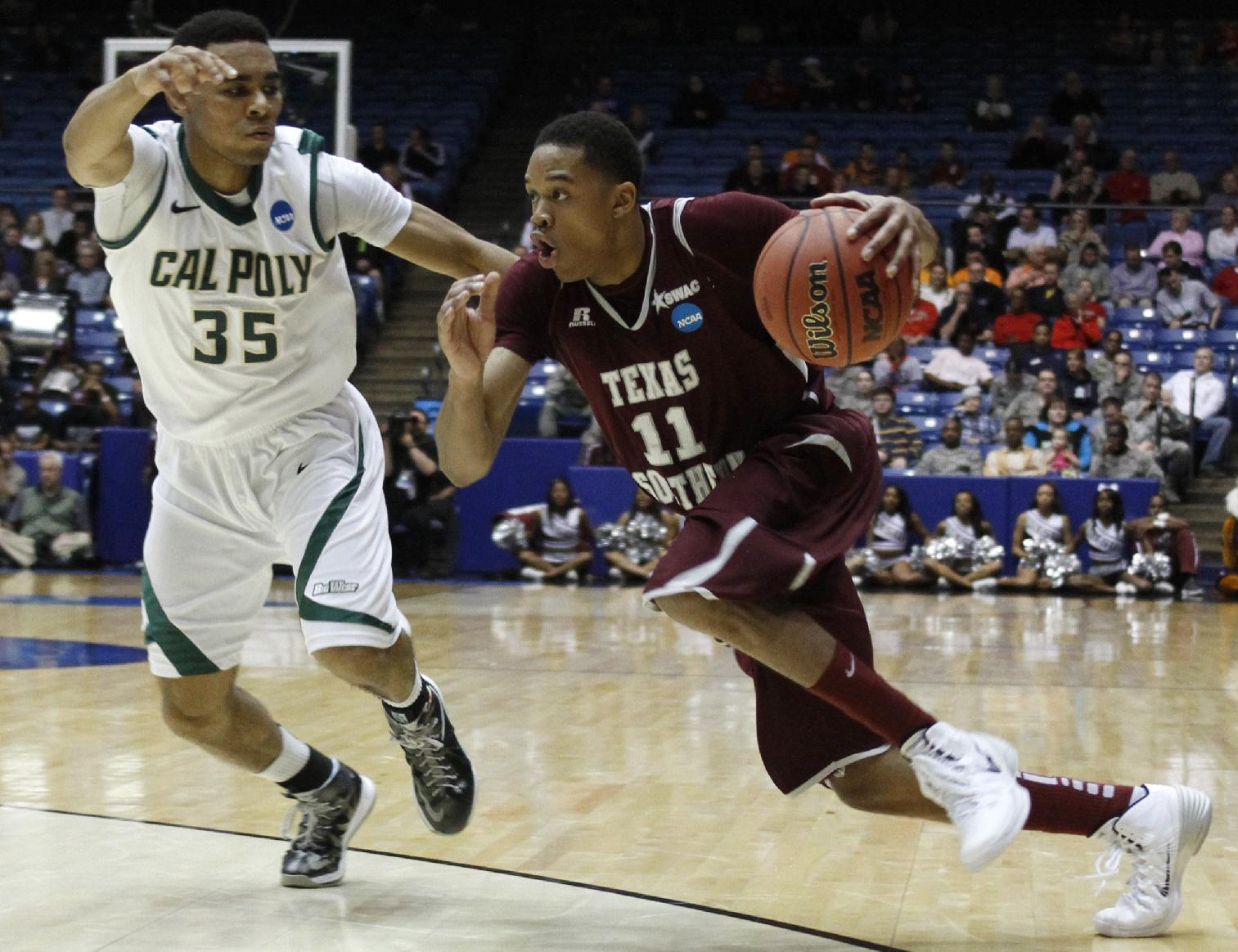 Cal Poly, just 14-19, advances in NCAA tournament