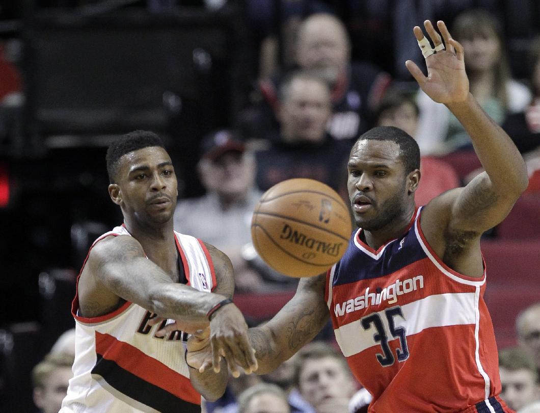 Trail Blazers down Wizards 116-103
