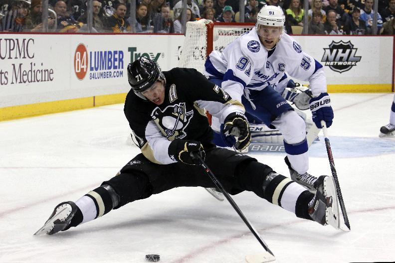 Neal lifts Penguins past Lightning 4-3