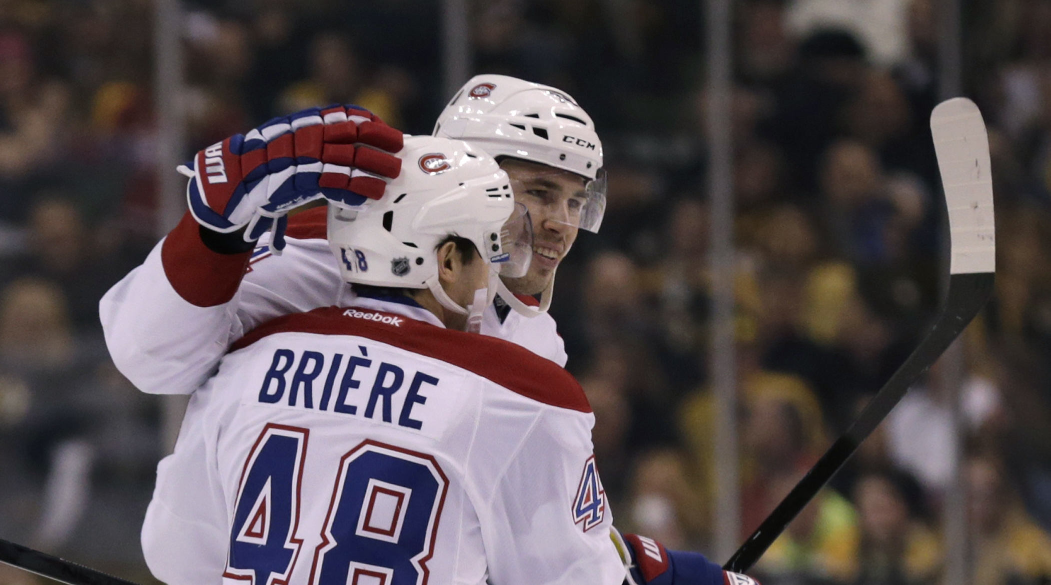 Canadiens stop Bruins' 12-game win streak