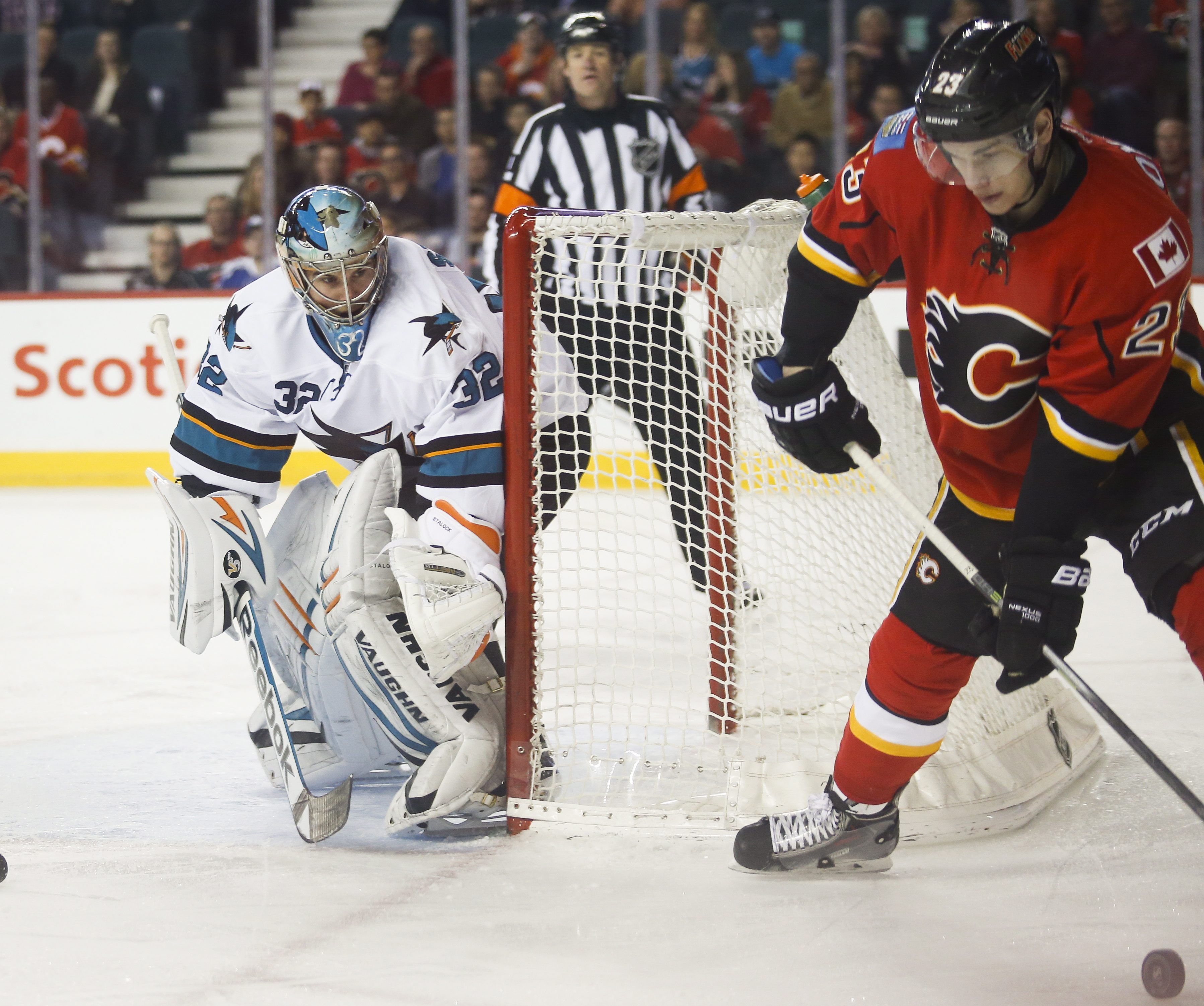 Sharks lose in shootout, but clinch playoff spot