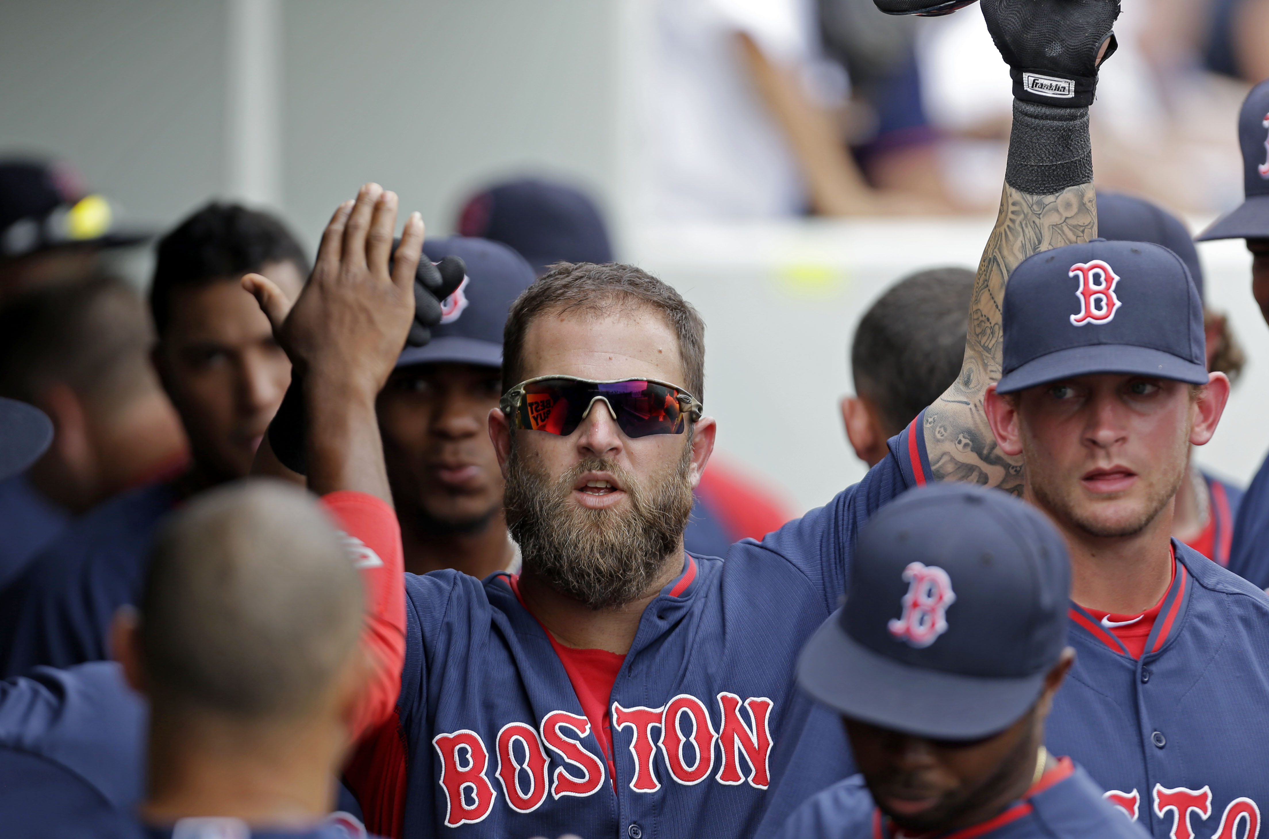 Napoli homers in Red Sox 4-0 win over Twins