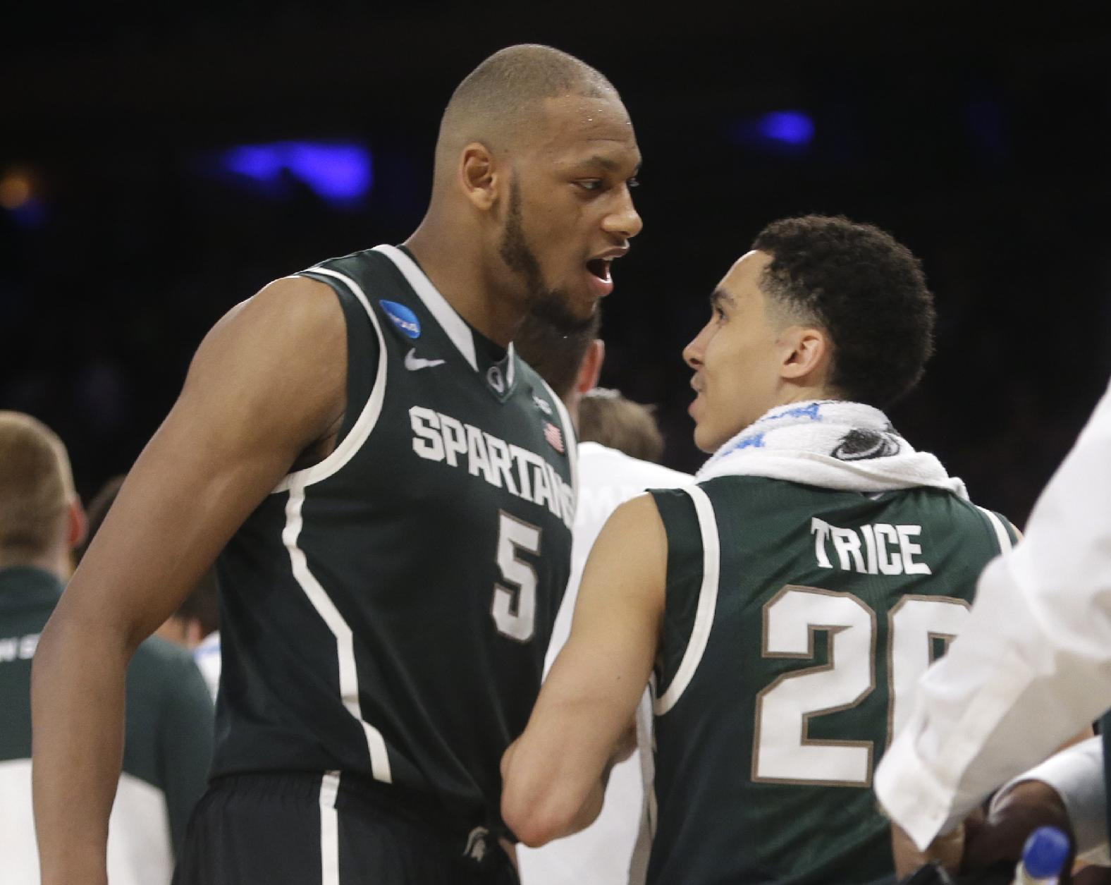 Spartans, Huskies one step closer