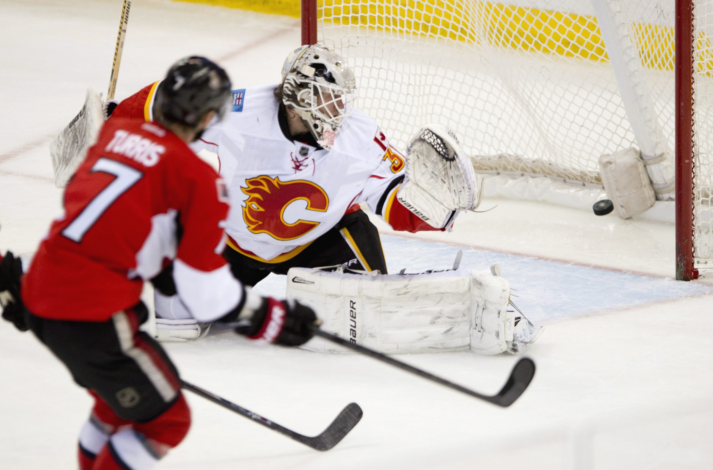 Michalek, Turris lead Senators past Flames 6-3