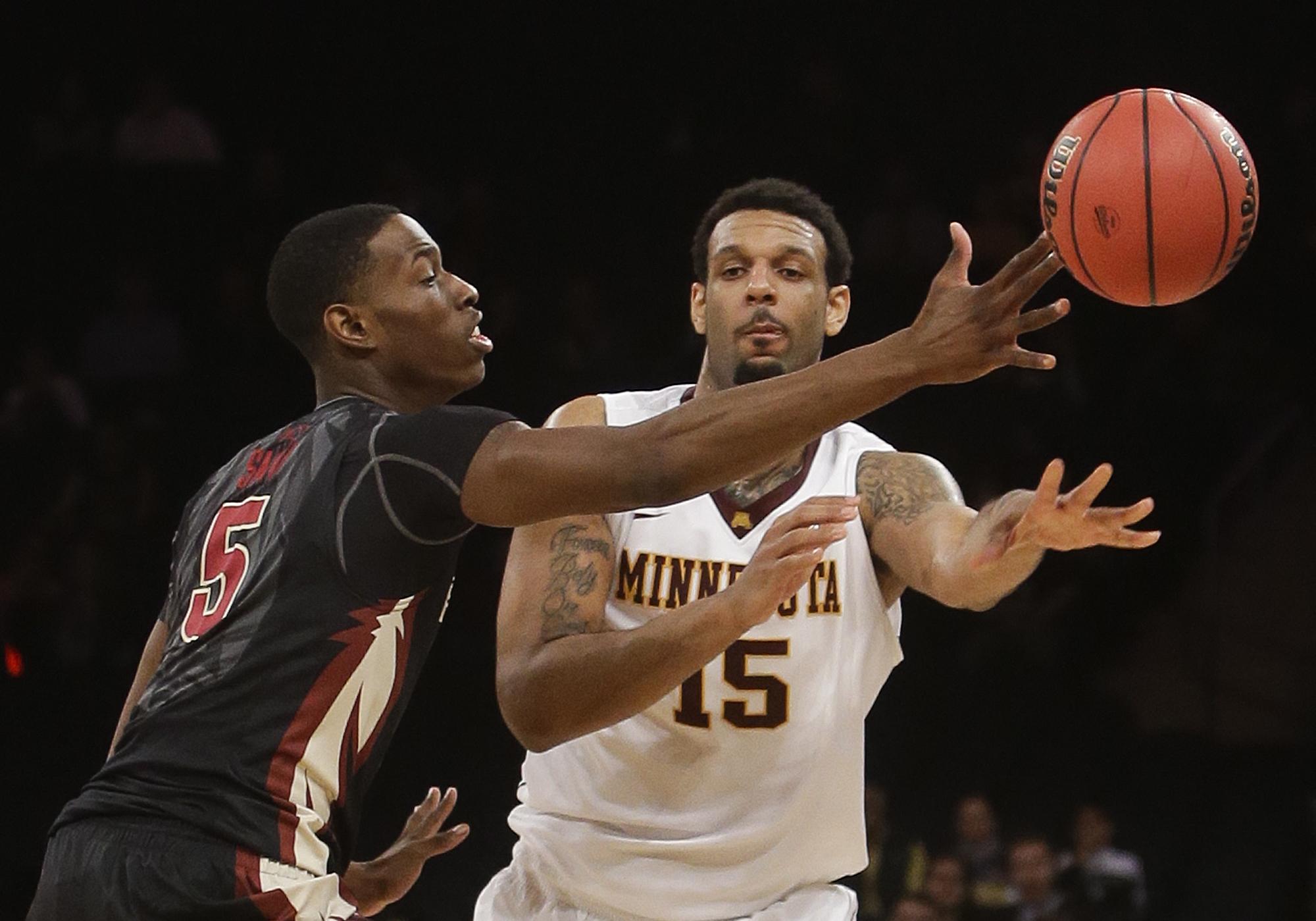 Minnesota beats Florida State 67-64 in OT at NIT
