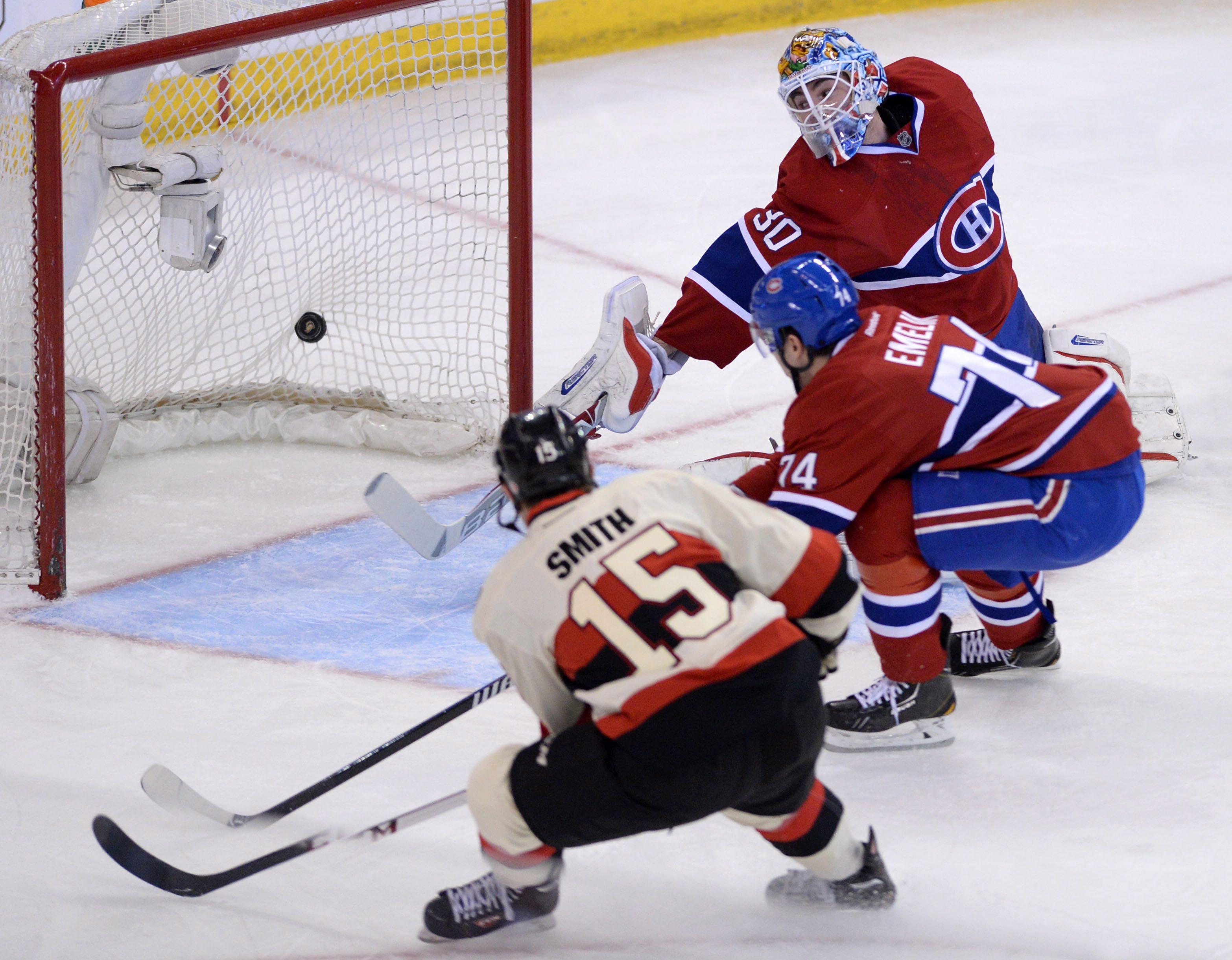 Pacioretty scores 3 as Canadiens beat Senators 7-4