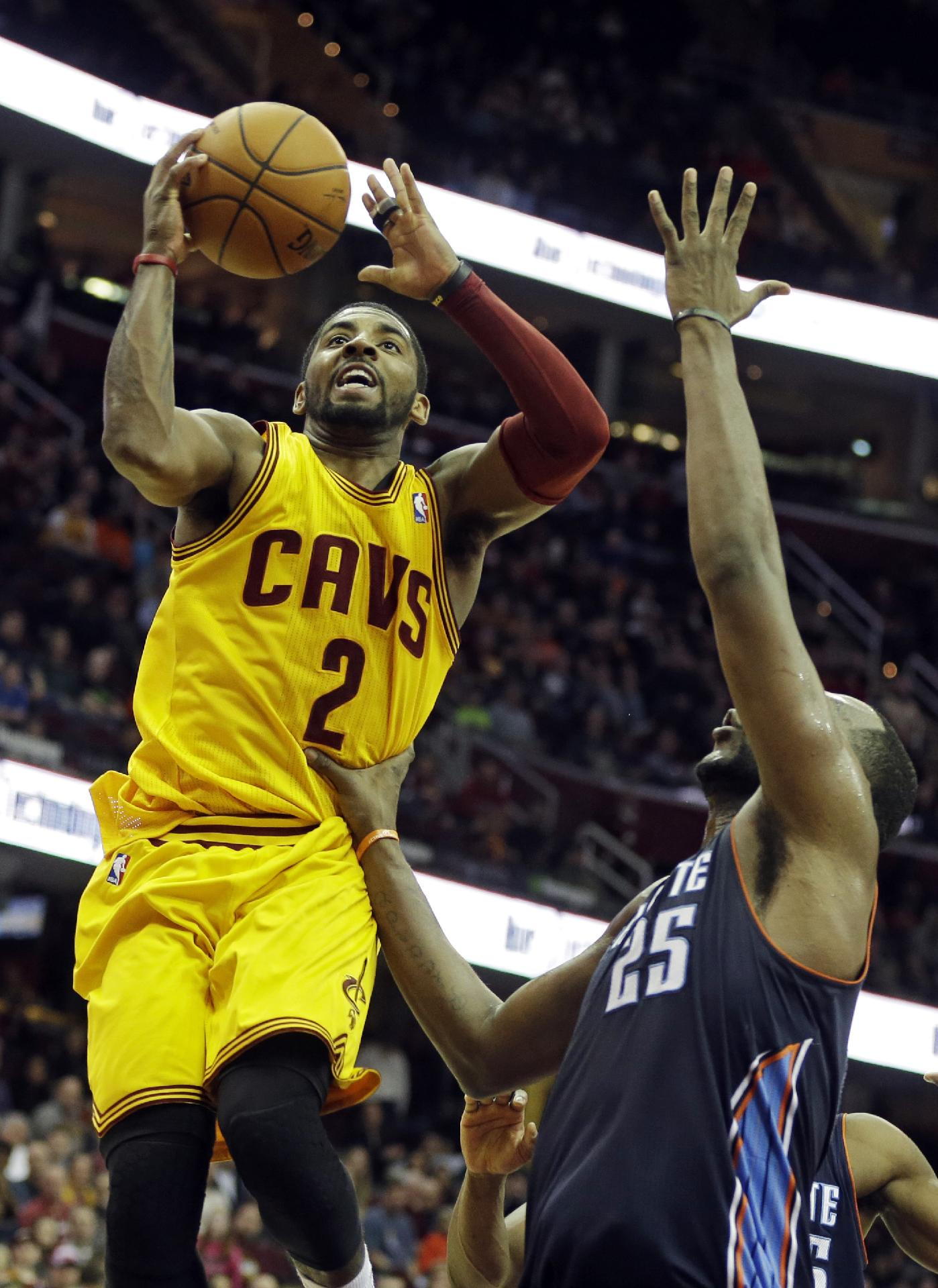 Cleveland clash: Irving, Gordon in media spat