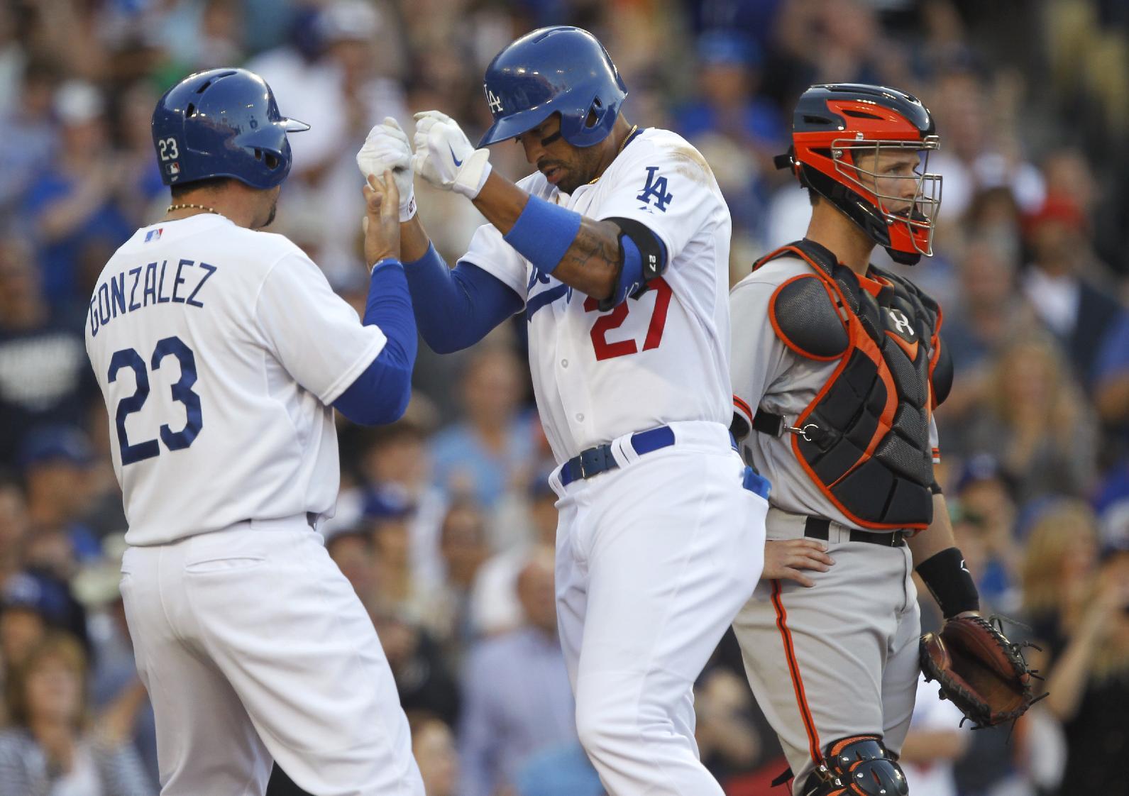 Kemp, Ramirez hit 2 HRs each, Dodgers beat Giants