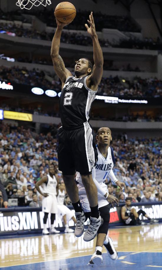 Mills shines in Parker's place, Spurs top Mavs