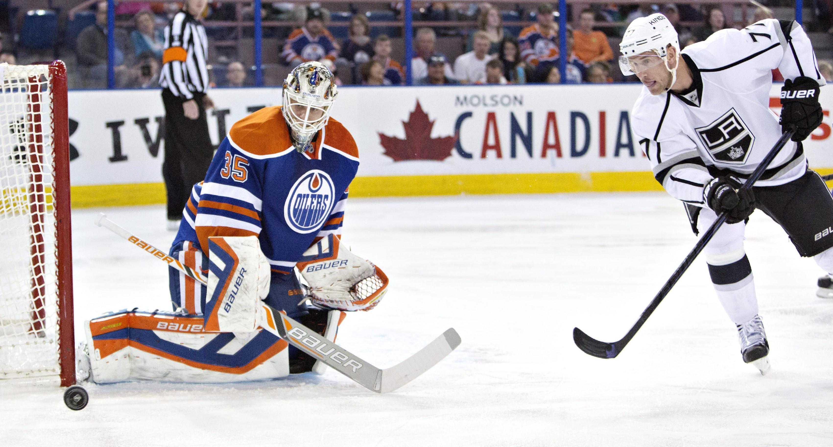 Gaborik scores 2 as Kings beat Oilers 3-0
