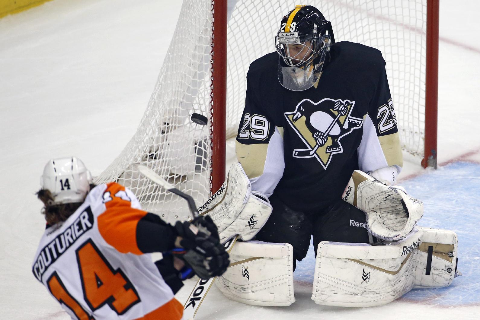 Streit's OT goal lifts Flyers over Penguins 4-3