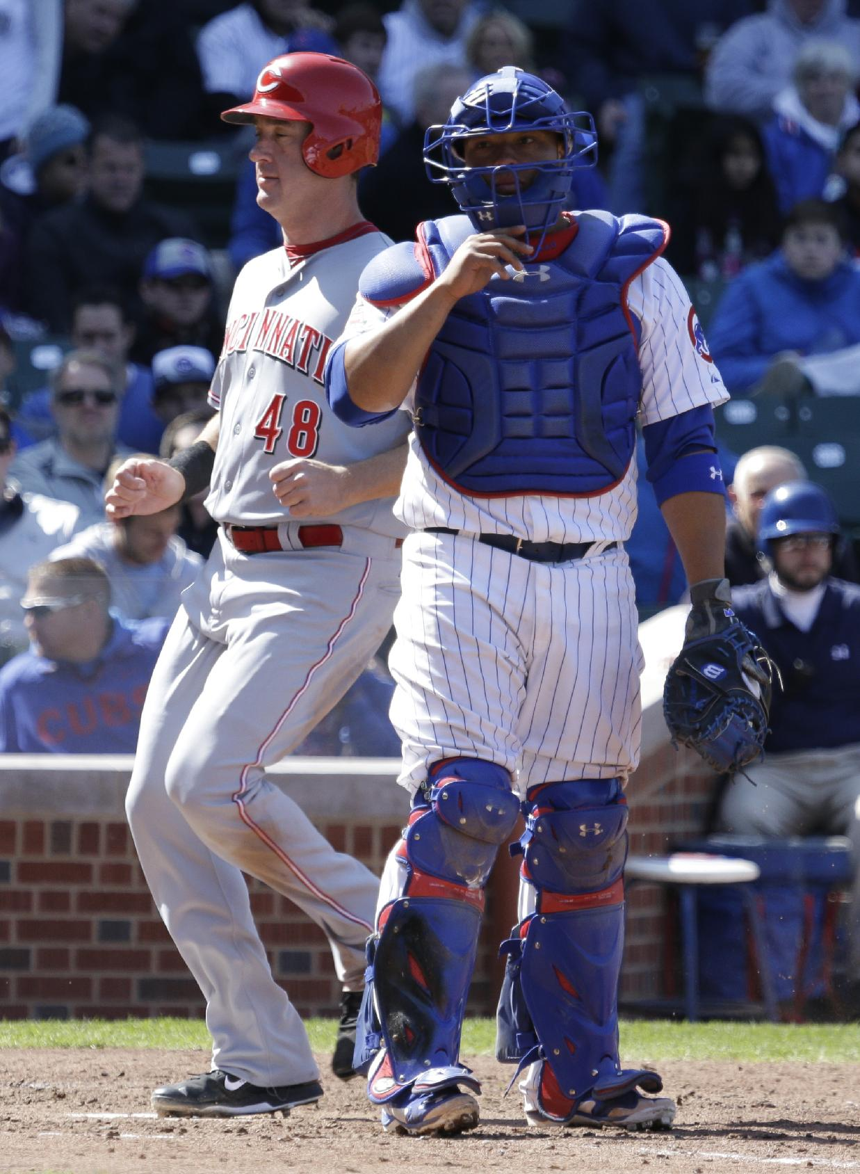 Alfredo Simon leads Reds over reeling Cubs 4-1