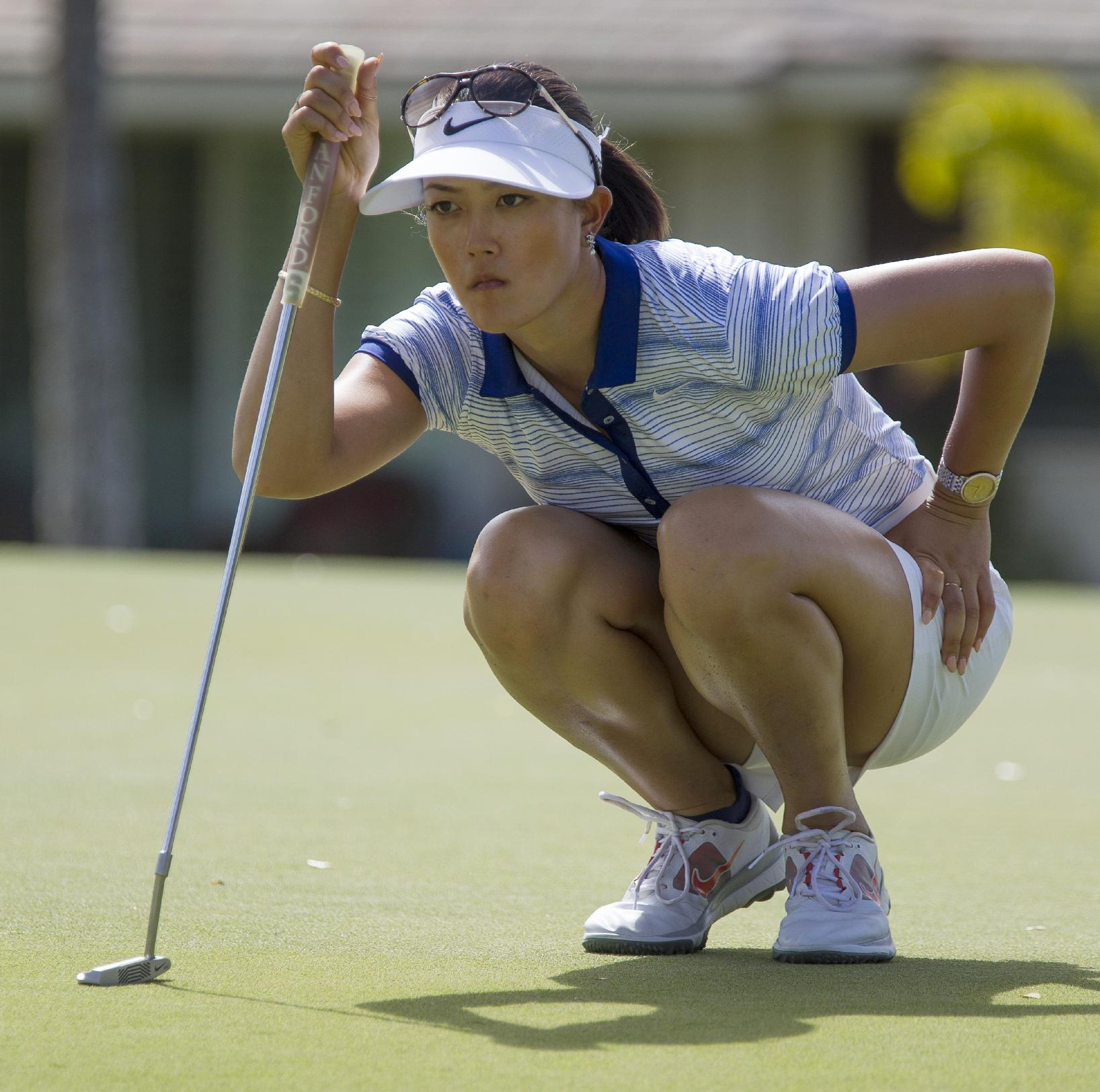 Stanford takes 4 stroke lead at LPGA LOTTE tourney