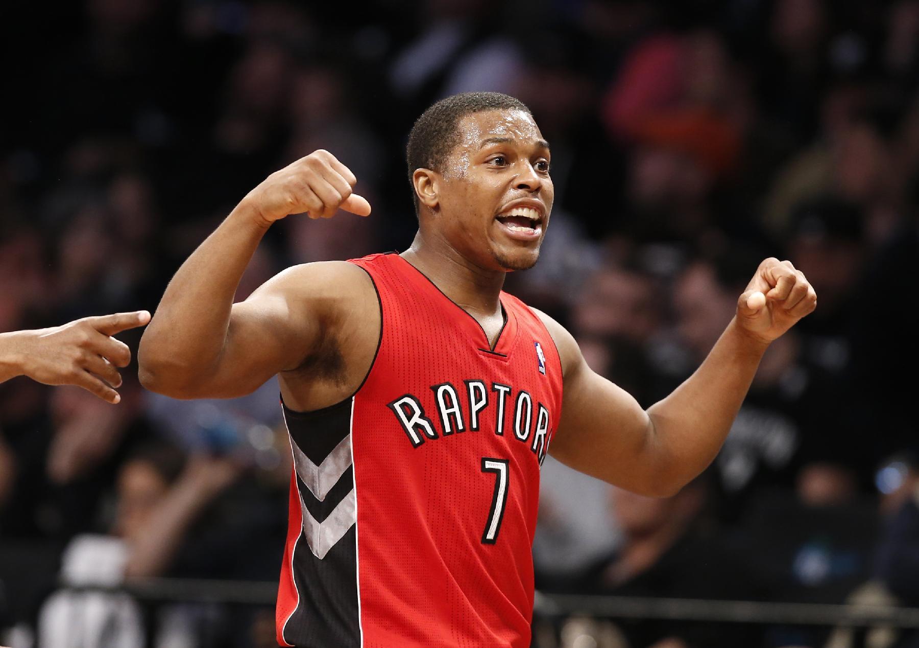 Raptors even series with Nets, win 87-79