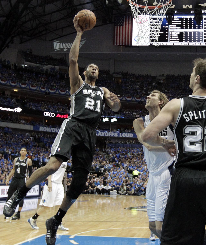 Ginobili, Diaw help Spurs get even with Mavs 93-89